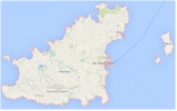 Google - Map of Guernsey